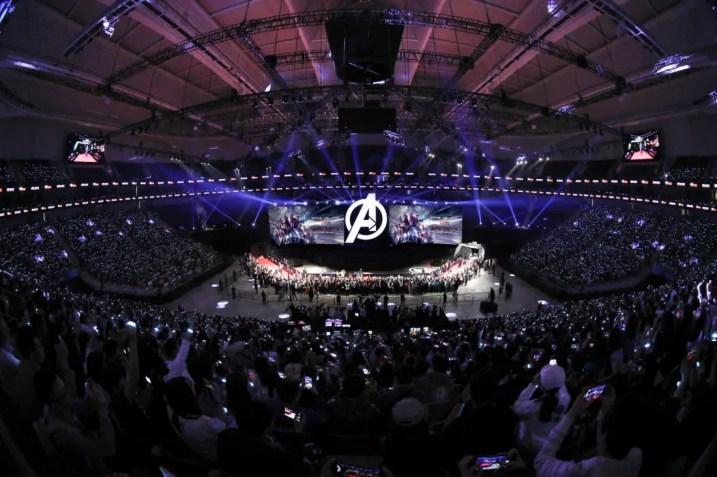 Avengers Endgame China Fan Event