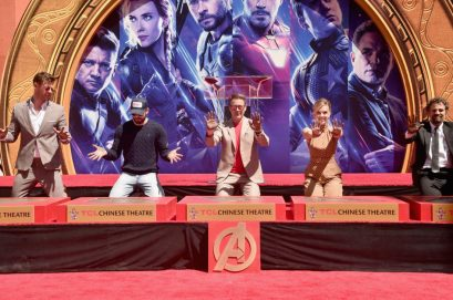 AVENGERS- ENDGAME Handprints at Chinese Theatre-23