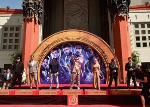 AVENGERS- ENDGAME Handprints at Chinese Theatre-8
