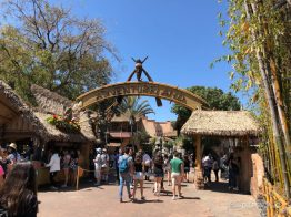 New Adventureland Sign at Disneyland-3