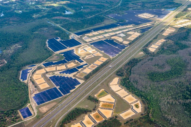 More than a half a million solar panels make up the new 270-acre solar facility that's helping to power the magic at Walt Disney World Resort. The facility was built in collaboration with the Reedy Creek Improvement District and solar project developer Origis Energy USA. (Origis Energy)