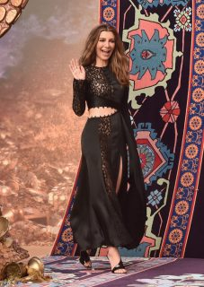 """LOS ANGELES, CA - MAY 21: Nasim Pedrad attends the World Premiere of Disney's """"Aladdin"""" at the El Capitan Theater in Hollywood CA on May 21, 2019, in the culmination of the film's Magic Carpet World Tour with stops in Paris, London, Berlin, Tokyo, Mexico City and Amman, Jordan. (Photo by Alberto E. Rodriguez/Getty Images for Disney) *** Local Caption *** Nasim Pedrad"""