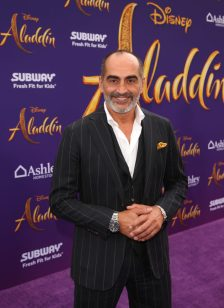 """LOS ANGELES, CA - MAY 21: Navid Negahban attends the World Premiere of Disney's """"Aladdin"""" at the El Capitan Theater in Hollywood CA on May 21, 2019, in the culmination of the film's Magic Carpet World Tour with stops in Paris, London, Berlin, Tokyo, Mexico City and Amman, Jordan. (Photo by Jesse Grant/Getty Images for Disney) *** Local Caption *** Navid Negahban"""
