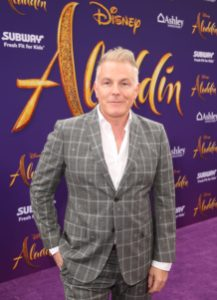 """LOS ANGELES, CA - MAY 21: Matthew Rush Sullivan attends the World Premiere of Disney's """"Aladdin"""" at the El Capitan Theater in Hollywood CA on May 21, 2019, in the culmination of the film's Magic Carpet World Tour with stops in Paris, London, Berlin, Tokyo, Mexico City and Amman, Jordan. (Photo by Jesse Grant/Getty Images for Disney) *** Local Caption *** Matthew Rush Sullivan"""