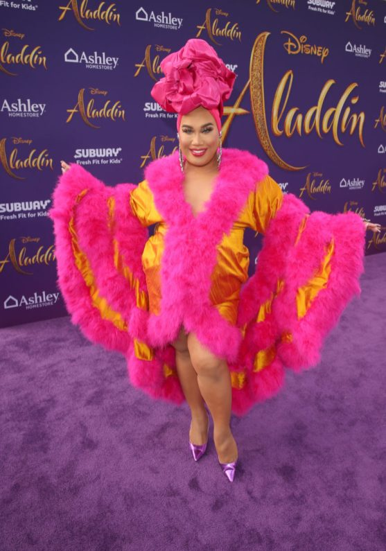 """LOS ANGELES, CA - MAY 21: Patrick Starrr attends the World Premiere of Disney's """"Aladdin"""" at the El Capitan Theater in Hollywood CA on May 21, 2019, in the culmination of the film's Magic Carpet World Tour with stops in Paris, London, Berlin, Tokyo, Mexico City and Amman, Jordan. (Photo by Jesse Grant/Getty Images for Disney) *** Local Caption *** Patrick Starrr"""