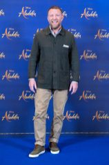 "Guy Ritchie attends the photo call to celebrate the release of Disney's ""Aladdin"" on May 10th in London, UK"