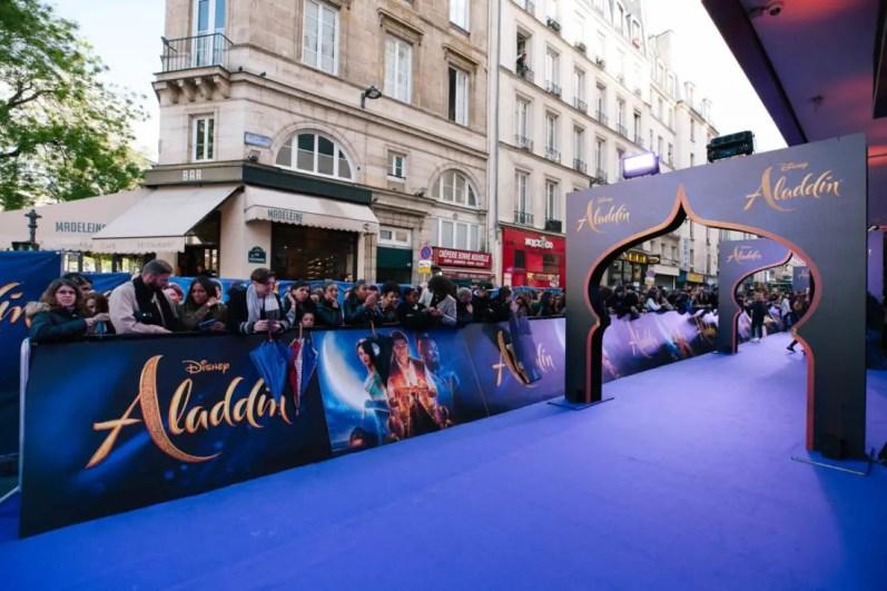 "PARIS, FRANCE – May 08: ""Aladdin"" Paris Gala Screening at Cinema Le Grand Rex on May 08, 2019 in Paris, France."