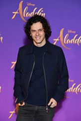 """PARIS, FRANCE - MAY 08: Michael Gregorio attends the """"Aladdin"""" gala screening at Le Grand Rex on May 08, 2019 in Paris, France. (Photo by Pascal Le Segretain/Getty Images For Disney)"""