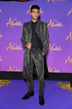 """PARIS, FRANCE - MAY 08: Mena Massoud attends the """"Aladdin"""" gala screening at Le Grand Rex on May 08, 2019 in Paris, France. (Photo by Pascal Le Segretain/Getty Images For Disney)"""