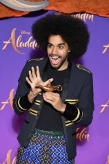 """PARIS, FRANCE - MAY 08: Gwendal Marimoutou attends the """"Aladdin"""" gala screening at Le Grand Rex on May 08, 2019 in Paris, France. (Photo by Pascal Le Segretain/Getty Images For Disney)"""