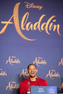 """Will Smith attends the """"Aladdin"""" press conference on May 11, 2019 in Berlin, Germany. .© Disney/Folioscope/Hanna Boussouar"""