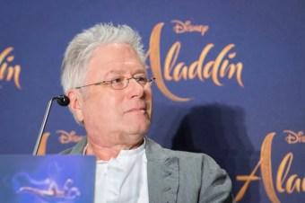 "Alan Menken attends the ""Aladdin"" press conference on May 11, 2019 in Berlin, Germany. .© Disney/Folioscope/Hanna Boussouar"