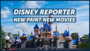 DISNEY Reporter - New Paint New Movies