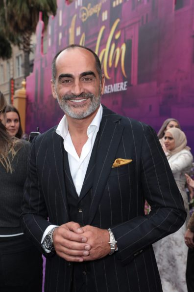 Navid Negahban attends the World Premiere of DisneyÕs Aladdin at the El Capitan Theater in Hollywood, CA on Tuesday, May 21, 2019, in the culmination of the filmÕs Magic Carpet World Tour with stops in Paris, London, Berlin, Tokyo, Mexico City and Amman, Jordan. (photo: Alex J. Berliner/ABImages)
