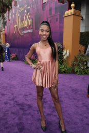 Teala Dunn attends the World Premiere of DisneyÕs Aladdin at the El Capitan Theater in Hollywood, CA on Tuesday, May 21, 2019, in the culmination of the filmÕs Magic Carpet World Tour with stops in Paris, London, Berlin, Tokyo, Mexico City and Amman, Jordan. (photo: Alex J. Berliner/ABImages)