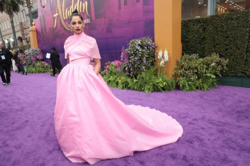 Naomi Scott attends the World Premiere of DisneyÕs Aladdin at the El Capitan Theater in Hollywood, CA on Tuesday, May 21, 2019, in the culmination of the filmÕs Magic Carpet World Tour with stops in Paris, London, Berlin, Tokyo, Mexico City and Amman, Jordan. (photo: Alex J. Berliner/ABImages)