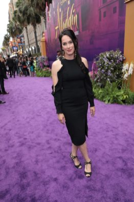 Joanna Bartling attends the World Premiere of DisneyÕs Aladdin at the El Capitan Theater in Hollywood, CA on Tuesday, May 21, 2019, in the culmination of the filmÕs Magic Carpet World Tour with stops in Paris, London, Berlin, Tokyo, Mexico City and Amman, Jordan. (photo: Alex J. Berliner/ABImages)