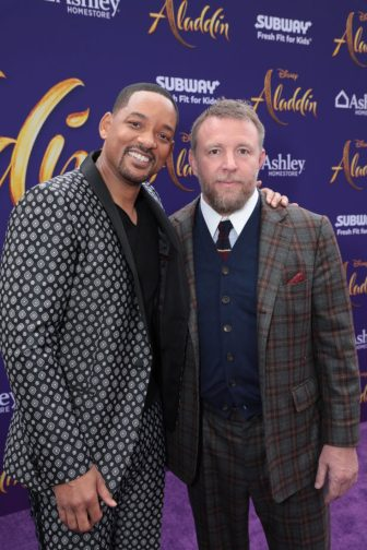 Will Smith and Director Guy Ritchie attend the World Premiere of DisneyÕs Aladdin at the El Capitan Theater in Hollywood, CA on Tuesday, May 21, 2019, in the culmination of the filmÕs Magic Carpet World Tour with stops in Paris, London, Berlin, Tokyo, Mexico City and Amman, Jordan. (photo: Alex J. Berliner/ABImages)