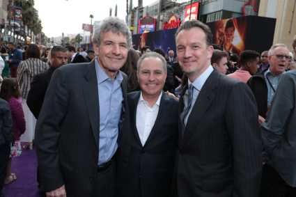 Alan Horn, Alan Bergman and Sean Bailey attend the World Premiere of DisneyÕs Aladdin at the El Capitan Theater in Hollywood, CA on Tuesday, May 21, 2019, in the culmination of the filmÕs Magic Carpet World Tour with stops in Paris, London, Berlin, Tokyo, Mexico City and Amman, Jordan. (photo: Alex J. Berliner/ABImages)