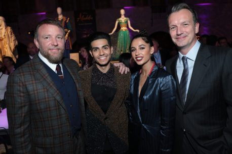 Guy Ritchie, Mena Massoud, Naomi Scott and Sean Bailey attend the World Premiere of DisneyÕs Aladdin after party at the Roosevelt Hotel in Hollywood, CA on Tuesday, May 21, 2019, in the culmination of the filmÕs Magic Carpet World Tour with stops in Paris, London, Berlin, Tokyo, Mexico City and Amman, Jordan. (photo: Alex J. Berliner/ABImages)