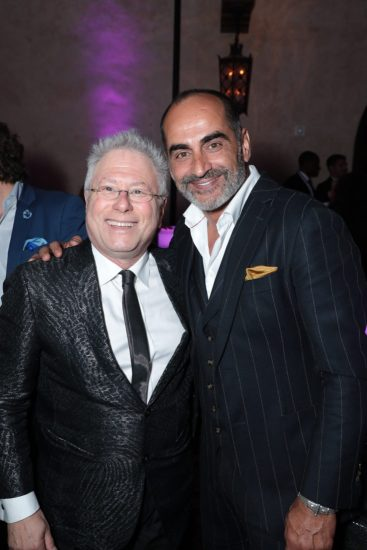 Adam Menken and Navid Negahban attend the World Premiere of DisneyÕs Aladdin after party at the Roosevelt Hotel in Hollywood, CA on Tuesday, May 21, 2019, in the culmination of the filmÕs Magic Carpet World Tour with stops in Paris, London, Berlin, Tokyo, Mexico City and Amman, Jordan. (photo: Alex J. Berliner/ABImages)