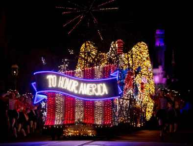 "The nostalgic fan-favorite Main Street Electrical Parade will once again create magical summer memories for guests of all ages at Disneyland Park, with a limited-time encore engagement taking place nightly, from Aug. 2 – Sept. 30, 2019. The nighttime spectacle features half-million sparkling lights and ""electro-syntho-magnetic musical sounds."" Disneyland Resort is located in Anaheim, Calif. (Scott Brinegar/Disneyland)"