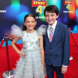 HOLLYWOOD, CA - JUNE 11: (L-R) Madeleine McGraw and Jack McGraw attend the world premiere of Disney and Pixar's TOY STORY 4 at the El Capitan Theatre in Hollywood, CA on Tuesday, June 11, 2019. (Photo by Rich Polk/Getty Images for Disney) *** Local Caption *** Jack McGraw; Madeleine McGraw