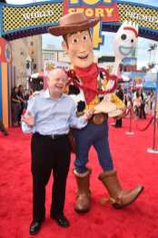 HOLLYWOOD, CA - JUNE 11: Wallace Shawn attends the world premiere of Disney and Pixar's TOY STORY 4 at the El Capitan Theatre in Hollywood, CA on Tuesday, June 11, 2019. (Photo by Alberto E. Rodriguez/Getty Images for Disney) *** Local Caption *** Wallace Shawn