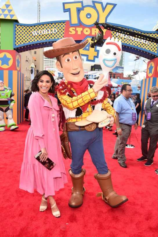 HOLLYWOOD, CA - JUNE 11: Tiffany Smith attends the world premiere of Disney and Pixar's TOY STORY 4 at the El Capitan Theatre in Hollywood, CA on Tuesday, June 11, 2019. (Photo by Alberto E. Rodriguez/Getty Images for Disney) *** Local Caption *** Tiffany Smith