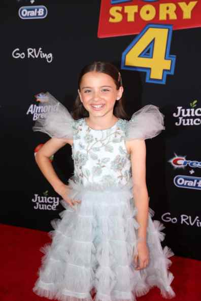 HOLLYWOOD, CA - JUNE 11: Madeleine McGraw attends the world premiere of Disney and Pixar's TOY STORY 4 at the El Capitan Theatre in Hollywood, CA on Tuesday, June 11, 2019. (Photo by Jesse Grant/Getty Images for Disney) *** Local Caption *** Madeleine McGraw