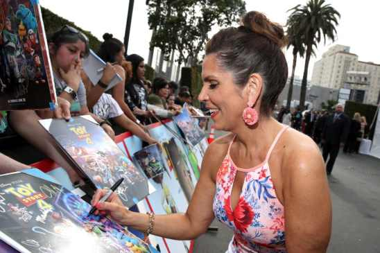 HOLLYWOOD, CA - JUNE 11: Lori Alan attends the world premiere of Disney and Pixar's TOY STORY 4 at the El Capitan Theatre in Hollywood, CA on Tuesday, June 11, 2019. (Photo by Rich Polk/Getty Images for Disney) *** Local Caption *** Lori Alan