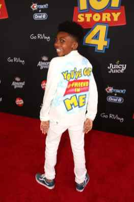 HOLLYWOOD, CA - JUNE 11: Christian J. Simon attends the world premiere of Disney and Pixar's TOY STORY 4 at the El Capitan Theatre in Hollywood, CA on Tuesday, June 11, 2019. (Photo by Jesse Grant/Getty Images for Disney) *** Local Caption *** Christian J. Simon