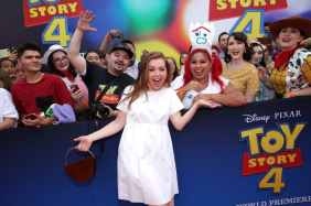 HOLLYWOOD, CA - JUNE 11: Alyson Hannigan attends the world premiere of Disney and Pixar's TOY STORY 4 at the El Capitan Theatre in Hollywood, CA on Tuesday, June 11, 2019. (Photo by Rich Polk/Getty Images for Disney) *** Local Caption *** Alyson Hannigan