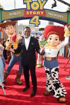 HOLLYWOOD, CA - JUNE 11: Carl Weathers attends the world premiere of Disney and Pixar's TOY STORY 4 at the El Capitan Theatre in Hollywood, CA on Tuesday, June 11, 2019. (Photo by Alberto E. Rodriguez/Getty Images for Disney) *** Local Caption *** Carl Weathers