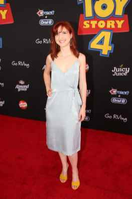 HOLLYWOOD, CA - JUNE 11: Marieve Herington attends the world premiere of Disney and Pixar's TOY STORY 4 at the El Capitan Theatre in Hollywood, CA on Tuesday, June 11, 2019. (Photo by Jesse Grant/Getty Images for Disney) *** Local Caption *** Marieve Herington