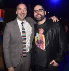 HOLLYWOOD, CA - JUNE 11: (L-R) Tony Hale and director Josh Cooley attend the world premiere of Disney and Pixar's TOY STORY 4 at the El Capitan Theatre in Hollywood, CA on Tuesday, June 11, 2019. (Photo by Alberto E. Rodriguez/Getty Images for Disney) *** Local Caption *** Josh Cooley; Tony Hale
