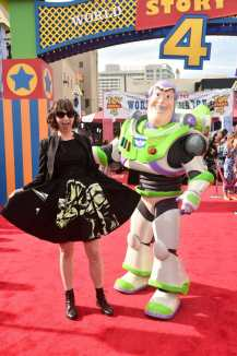 HOLLYWOOD, CA - JUNE 11: Kristen Schaal attends the world premiere of Disney and Pixar's TOY STORY 4 at the El Capitan Theatre in Hollywood, CA on Tuesday, June 11, 2019. (Photo by Alberto E. Rodriguez/Getty Images for Disney) *** Local Caption *** Kristen Schaal