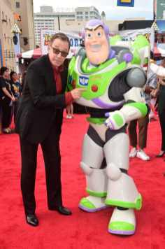 HOLLYWOOD, CA - JUNE 11: Tim Allen attends the world premiere of Disney and Pixar's TOY STORY 4 at the El Capitan Theatre in Hollywood, CA on Tuesday, June 11, 2019. (Photo by Alberto E. Rodriguez/Getty Images for Disney) *** Local Caption *** Tim Allen