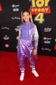 HOLLYWOOD, CA - JUNE 11: Kylie Cantrall attends the world premiere of Disney and Pixar's TOY STORY 4 at the El Capitan Theatre in Hollywood, CA on Tuesday, June 11, 2019. (Photo by Jesse Grant/Getty Images for Disney) *** Local Caption *** Kylie Cantrall
