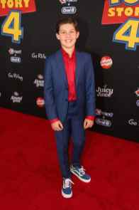 HOLLYWOOD, CA - JUNE 11: Jackson Dollinger attends the world premiere of Disney and Pixar's TOY STORY 4 at the El Capitan Theatre in Hollywood, CA on Tuesday, June 11, 2019. (Photo by Jesse Grant/Getty Images for Disney) *** Local Caption *** Jackson Dollinger