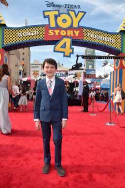 HOLLYWOOD, CA - JUNE 11: Jack McGraw attends the world premiere of Disney and Pixar's TOY STORY 4 at the El Capitan Theatre in Hollywood, CA on Tuesday, June 11, 2019. (Photo by Alberto E. Rodriguez/Getty Images for Disney) *** Local Caption *** Jack McGraw