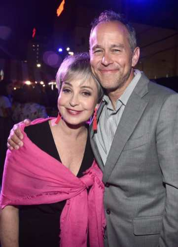 HOLLYWOOD, CA - JUNE 11: Annie Potts (L) and Producer Jonas Rivera attend the world premiere of Disney and Pixar's TOY STORY 4 at the El Capitan Theatre in Hollywood, CA on Tuesday, June 11, 2019. (Photo by Alberto E. Rodriguez/Getty Images for Disney) *** Local Caption *** Annie Potts; Jonas Rivera