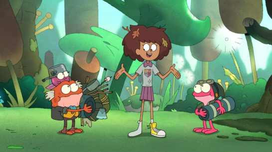"AMPHIBIA - ""Anne Vs. Wild"" (Disney Channel) POLLY, HOP POP, ANNE, SPRIG"