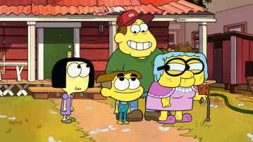 "BIG CITY GREENS - ""Space Chicken"" (Disney Channel) TILLY GREEN, CRICKET GREEN, BILL GREEN, GRAMMA GREEN"