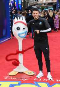"""LONDON, ENGLAND - JUNE 16: Billy Wingrove attends the European premiere of Disney and Pixar's """"Toy Story 4"""" at the Odeon Luxe Leicester Square on June 16, 2019 in London, England. (Photo by Gareth Cattermole/Getty Images for Disney and Pixar)"""