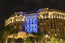 "The new Gran Destino Tower at Disney's Coronado Springs Resort opening July 9 at Walt Disney World Resort in Lake Buena Vista, Florida, takes its inspiration from the Disney animated short film ""Destino."" (Steven Diaz, photographer)"