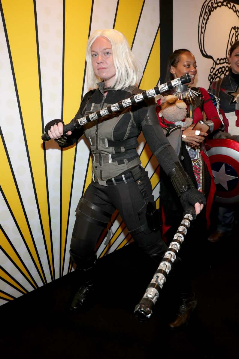 SAN DIEGO, CALIFORNIA - JULY 20: An attendee is cosplay is seen at the #IMDboat at San Diego Comic-Con 2019: Day Three at the IMDb Yacht on July 20, 2019 in San Diego, California. (Photo by Rich Polk/Getty Images for IMDb)