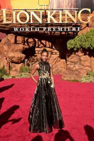 """HOLLYWOOD, CALIFORNIA - JULY 09: Demi Singleton attends the World Premiere of Disney's """"THE LION KING"""" at the Dolby Theatre on July 09, 2019 in Hollywood, California. (Photo by Alberto E. Rodriguez/Getty Images for Disney)"""