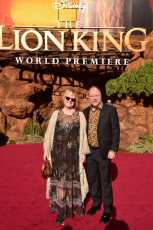 "HOLLYWOOD, CALIFORNIA - JULY 09: Brenda Chapman (L) attends the World Premiere of Disney's ""THE LION KING"" at the Dolby Theatre on July 09, 2019 in Hollywood, California. (Photo by Alberto E. Rodriguez/Getty Images for Disney)"