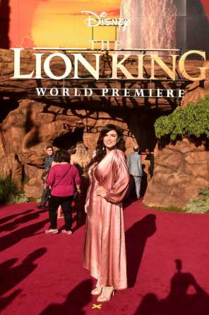 "HOLLYWOOD, CALIFORNIA - JULY 09: Gina Carano attends the World Premiere of Disney's ""THE LION KING"" at the Dolby Theatre on July 09, 2019 in Hollywood, California. (Photo by Alberto E. Rodriguez/Getty Images for Disney)"
